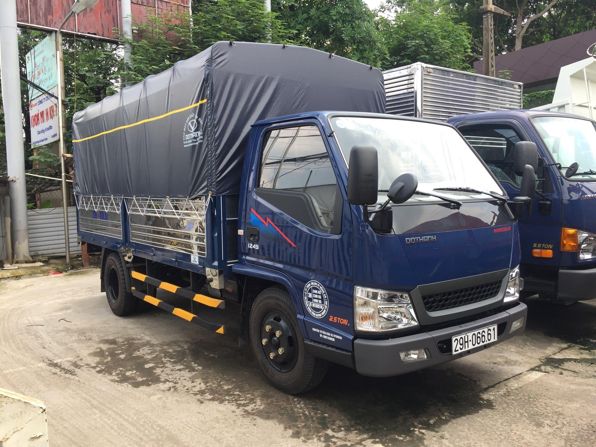 Xe tải Đô Thành IZ49 2.5 Tấn - Bán trả góp,giá thành hấp dẫn.