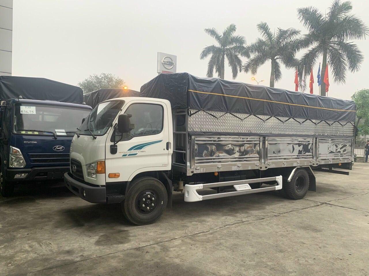Báo giá xe tải 7 tấn Hyundai nâng tải Hyundai 110XL, Hyundai EX8