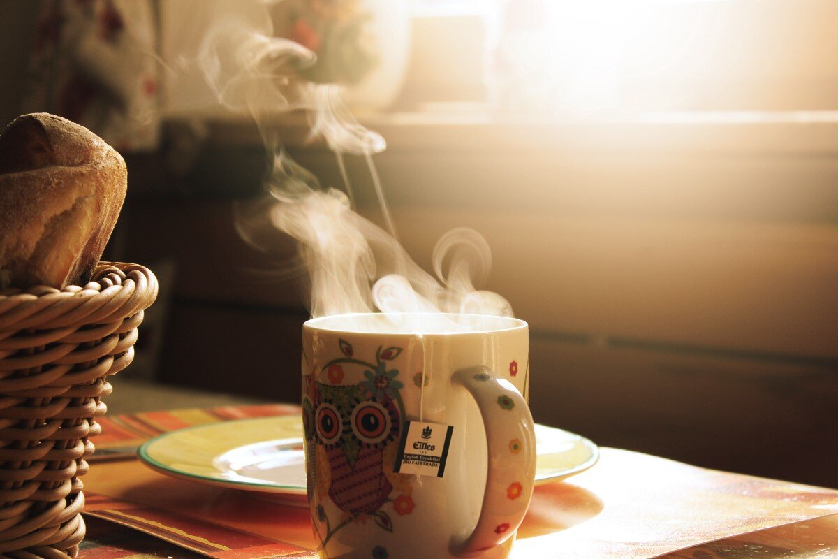 Warm up your soul with a hot cup of tea — Inspire the Mind