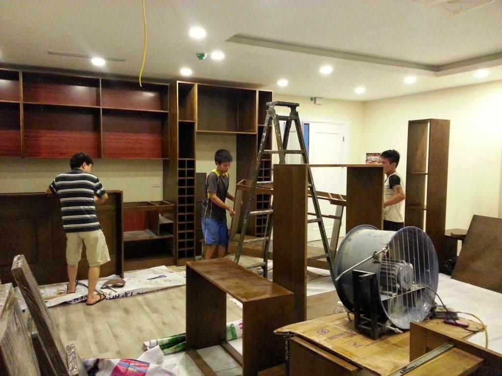Dịch vụ sửa chữa đồ gỗ tại nhà Hà Nội (2)