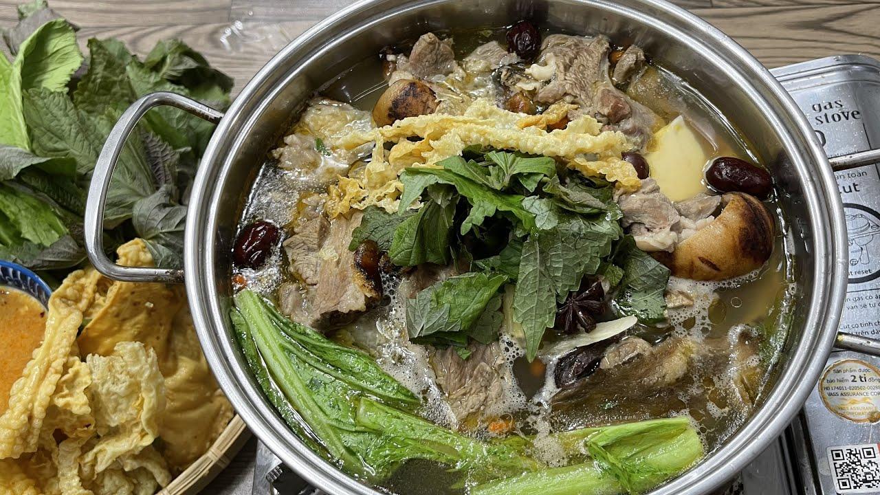 LẨU DÊ | Cách Nấu Lẩu Dê Tiết Kiệm Thời Gian, Thịt Dê Không Hôi - Ẩm Thực  Chị Tư