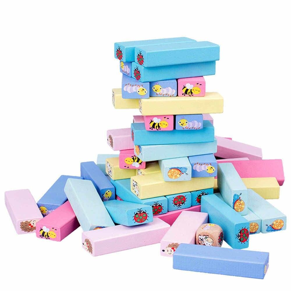 Báo giá Bộ đồ chơi rút gỗ nhiều màu cỡ lớn in hình con vật 51 thanh, đồ chơi rút gỗ loại lớn kích thước 28 x 8.5 x 8cm chỉ 180.000₫ |