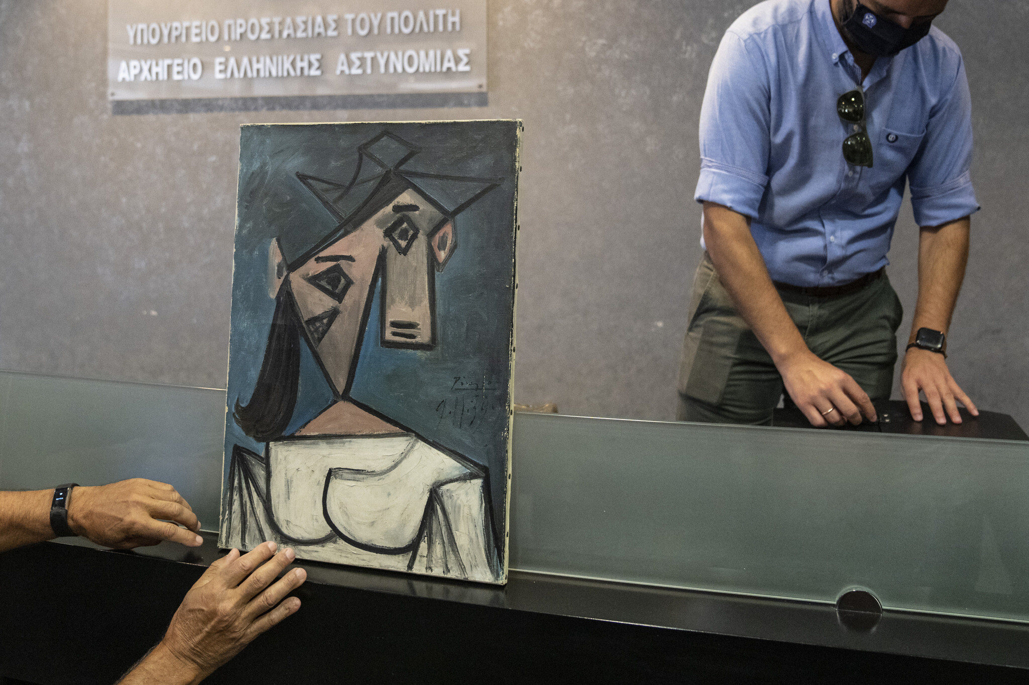 Greek police recover stolen Picasso painting, then drop it | The Times of  Israel