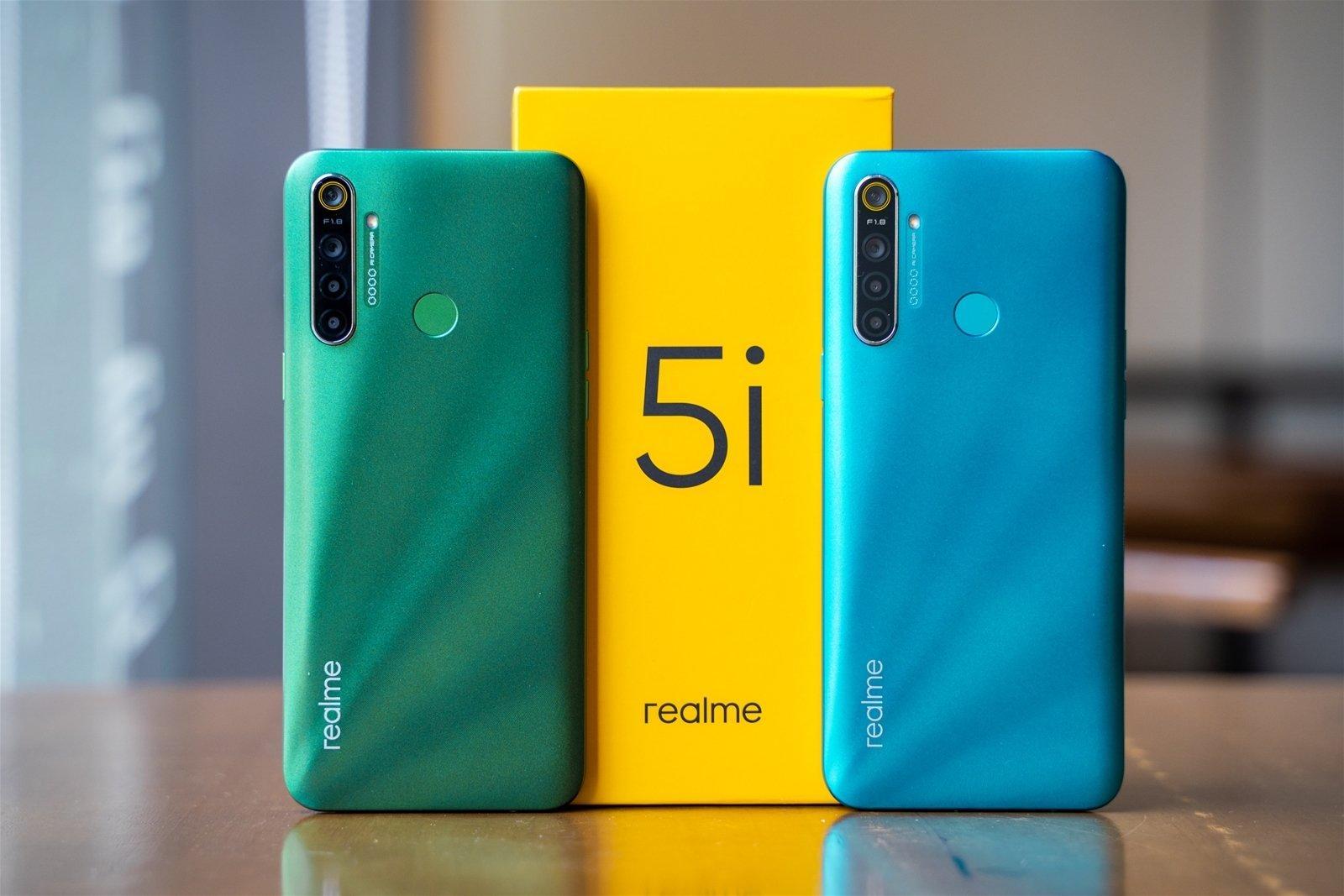 Đánh giá Realme 5i: Cấu hình mạnh, pin khủng 5000 mAh và giá cả hợp lí - BlogAnChoi