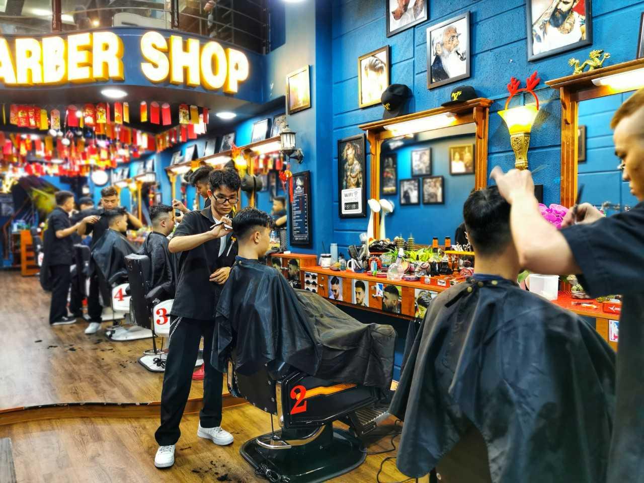 Tiệm cắt tóc đẹp ở Gò Vấp