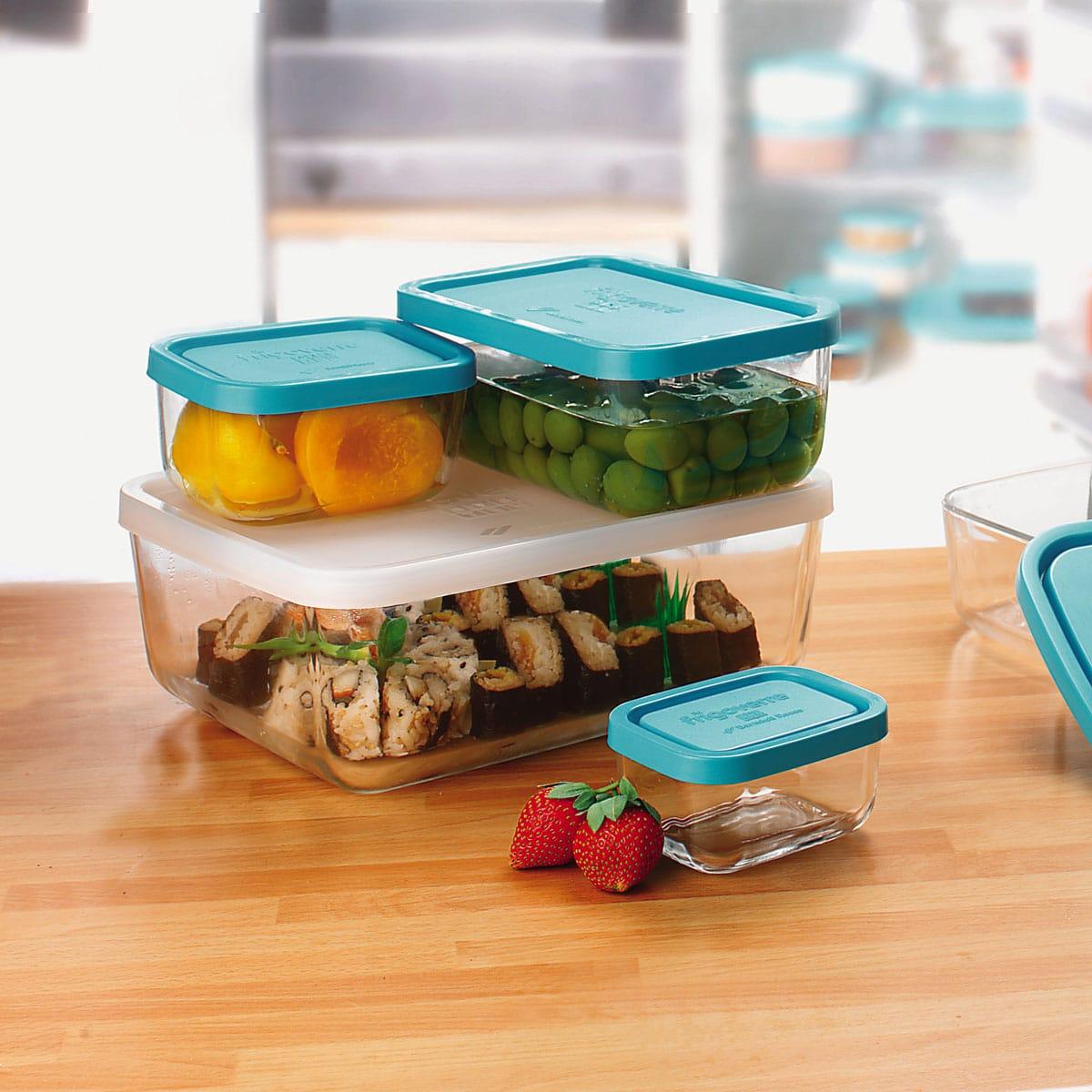 Hộp thủy tinh Frigoverre - Giải pháp cất trữ thực phẩm trong tủ lạnh, tủ  đông | Sapakitchen