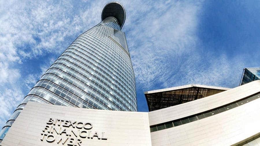 Tòa nhà chọc trời Bitexco- T.P Hồ Chí Minh cao nhất Việt Nam 2010 sử dụng sơn Dulux