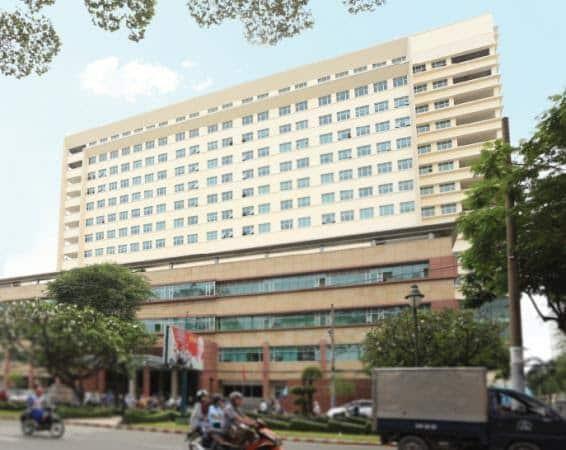 Bệnh viện đại học Y TP Hồ Chí Minh sử dụng sơn Dulux