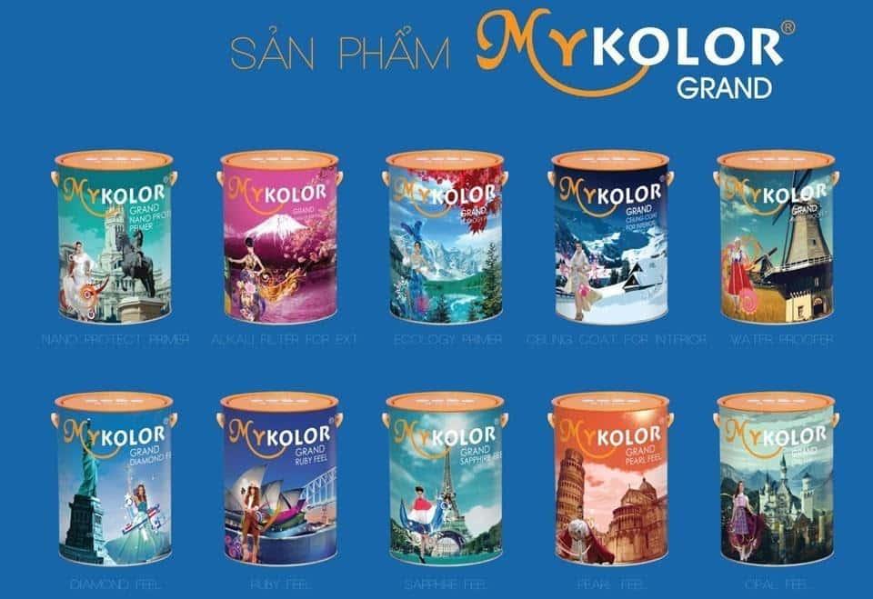 Sơn MyKolor, sơn Expo là các sản phẩm thuộc Công Ty TNHH 4 ORANGES- thuộc tập đoàn Asia Leader International Investment ( nước Mỹ)
