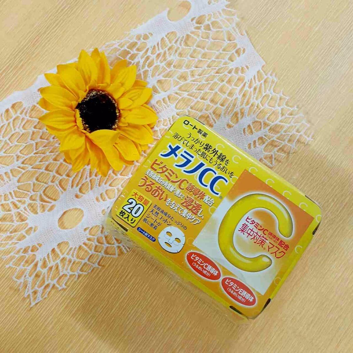 Mặt Nạ Melano CC (20 Miếng)   ShopLeHuyen   Hàng Nhật