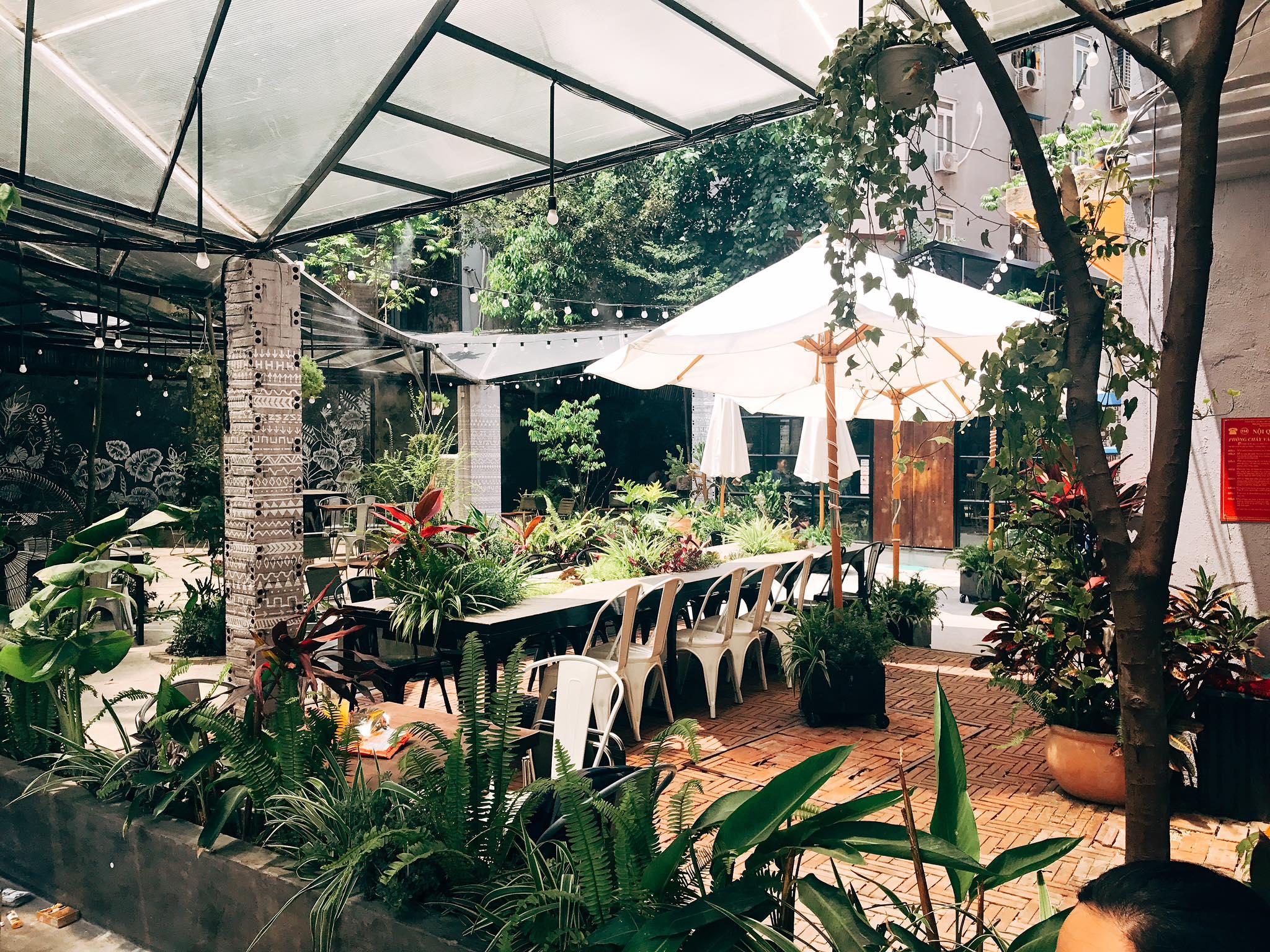 Cafe phòng riêng Hà Nội