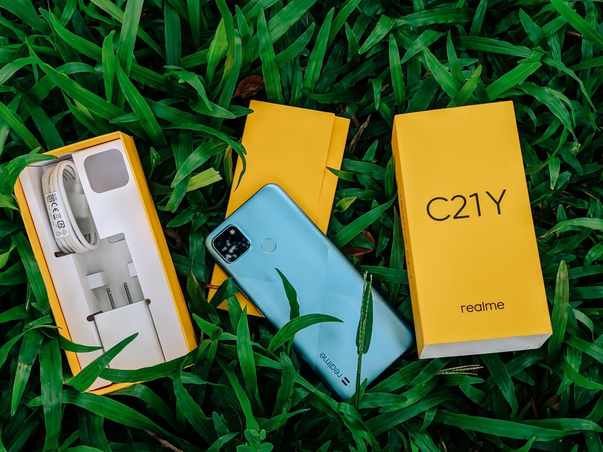 Realme C21Y thiết kế hiện đại phù hợp với giới trẻ - Công Nghệ