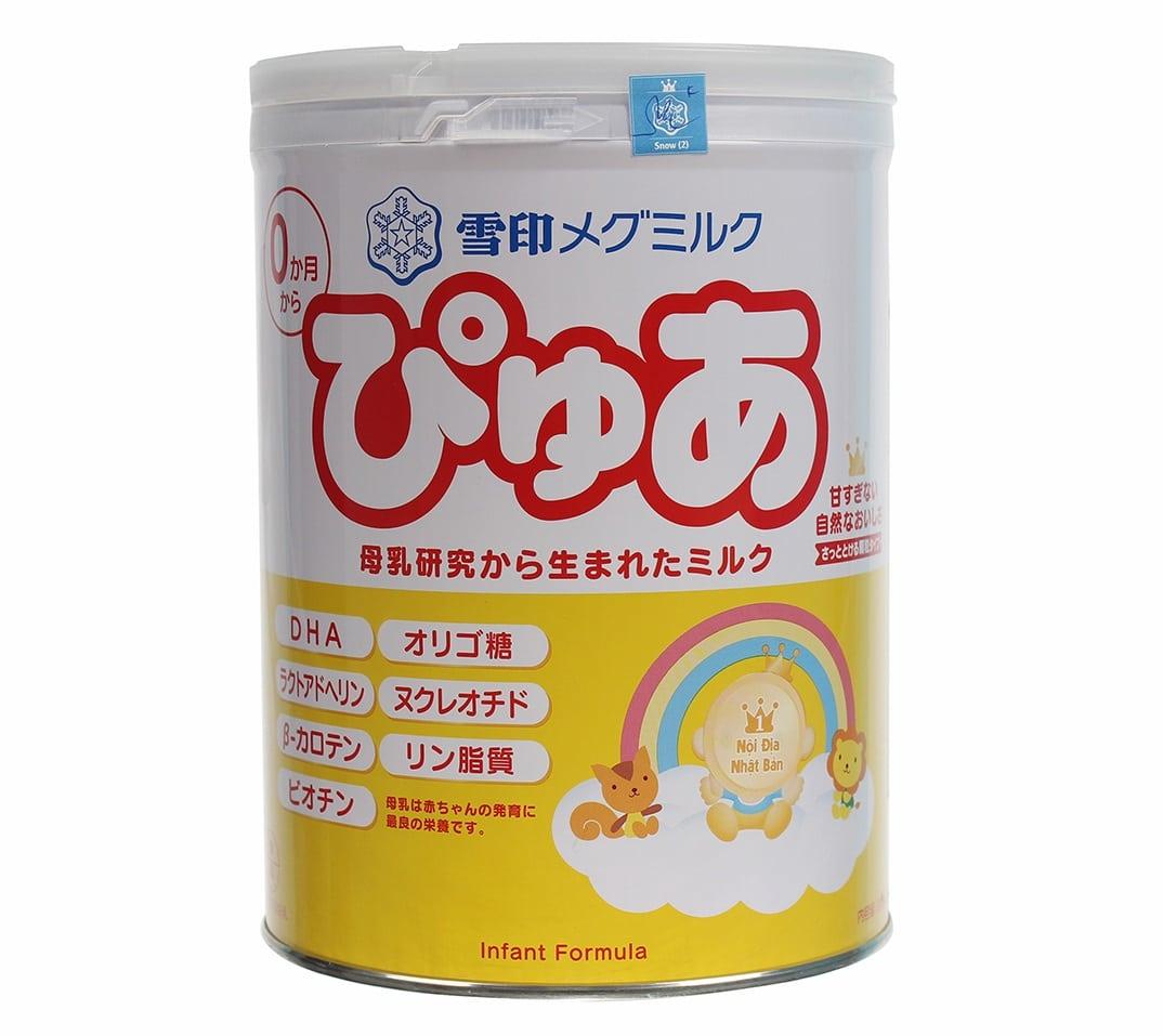 Sữa Snow Baby Nhật số 0 820g (cho bé 0 - 9 tháng)