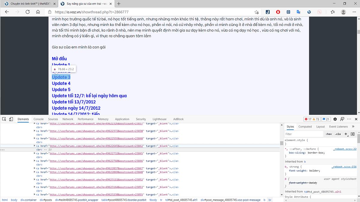 Website diễn đàn công nghệ (1)
