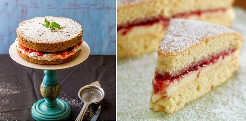 Bánh Victoria Sponge
