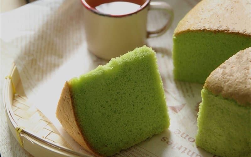 Bánh ngọt Bông lan lá dứa