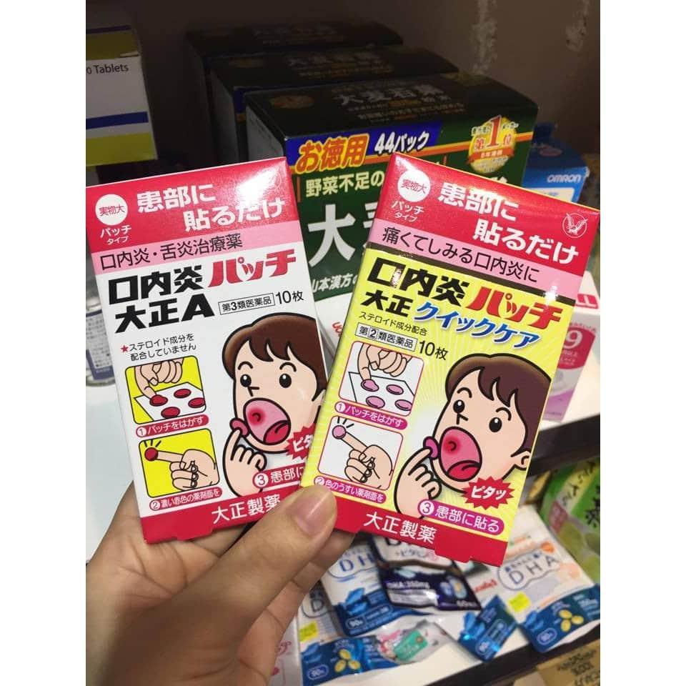 Thuốc nhiệt miệng trẻ em ( 5 )