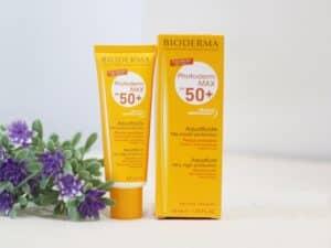 Kem Chống Nắng Bioderma Photoderm Max Aqua Fluide Spf 50+(40ml) – Bonita Cosmetic Shop